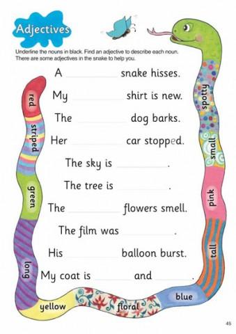 Grammar-1-Pupil-Book-Adjectives-339x480